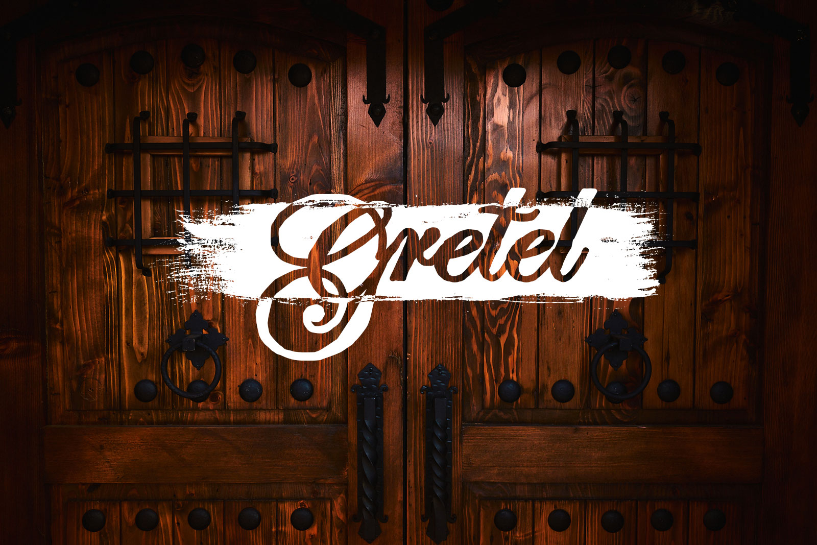 Entry doors at Gretel